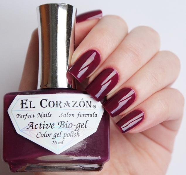 El Corazon, Active Bio-gel Color gel polish Cream №423-327Лечебный биогель El Corazon<br>Био-гельсветло-вишневый, без блесток и перламутра, плотный. Объем 16 ml.<br>