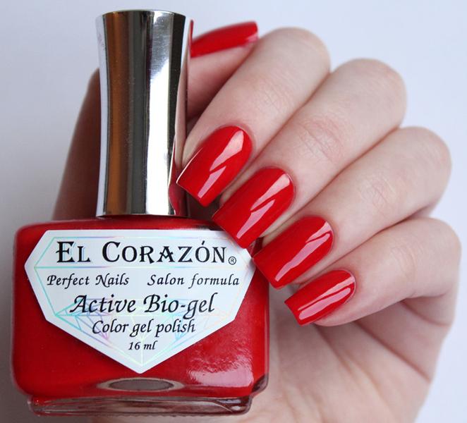 El Corazon, Active Bio-gel Color gel polish Cream №423-329Лечебный биогель El Corazon<br>Био-гелькрасный, без блесток и перламутра, плотный. Объем 16 ml.<br>
