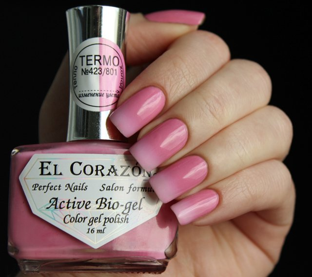 El Corazon, Active Bio-gel Color gel polish Termo �423/801