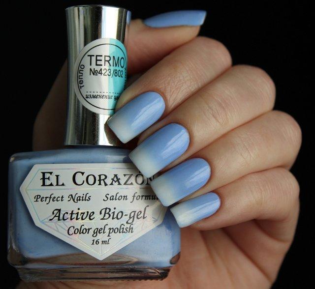 El Corazon, Active Bio-gel Color gel polish Termo �423/802