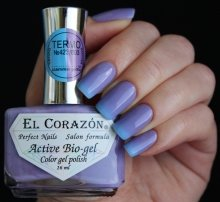 El Corazon, Active Bio-gel Color gel polish Termo №423-803