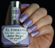 El Corazon, Active Bio-gel Color gel polish Termo №423/806