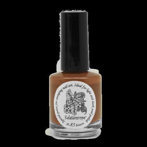 El Corazon, Лак для стемпинга St-85 (brown) 15млЛаки для стемпинга El Corazon<br>Плотный лак для стемпинга сильнопигментированный, коричневый<br>