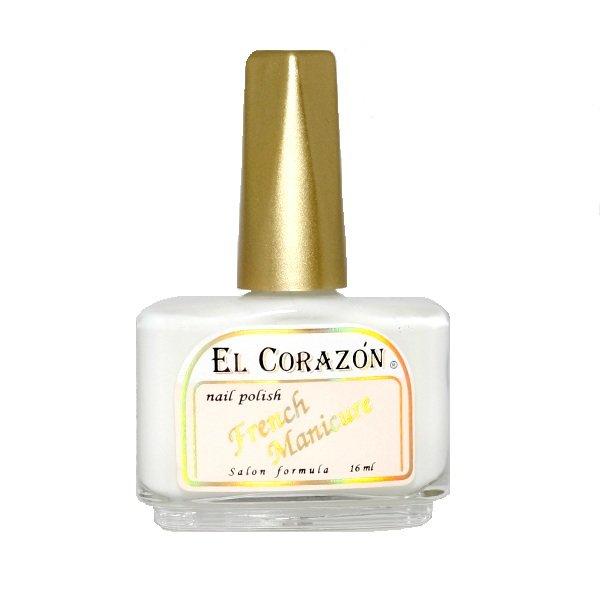 El Corazon, Лак для ногтей French Manicure №216Лаки El Corazon<br>Лак, перламутровый, белый, полупрозрачный<br>