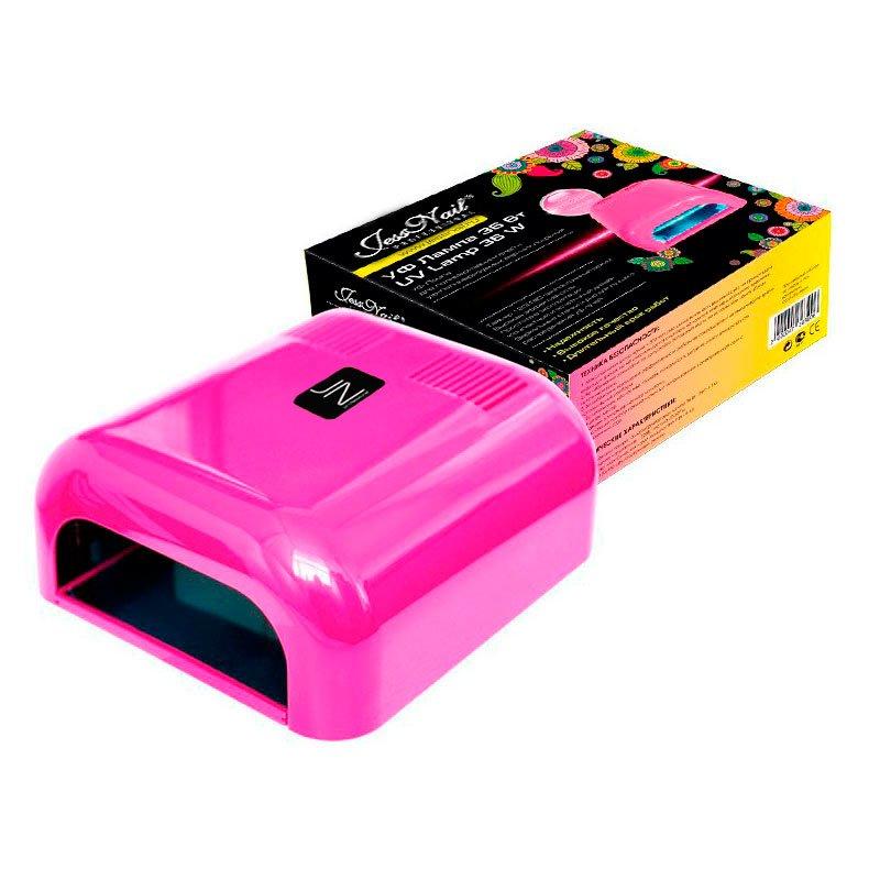 JessNail, УФ лампа 36 Вт (розовая, глянцевая)УФ-Лампы<br>Профессиональная ультрафиолетовая лампа мощностью 36 Ватт.<br>
