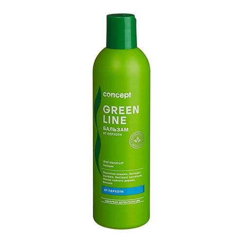 Concept, Бальзам Green line, от перхоти, 300 мл