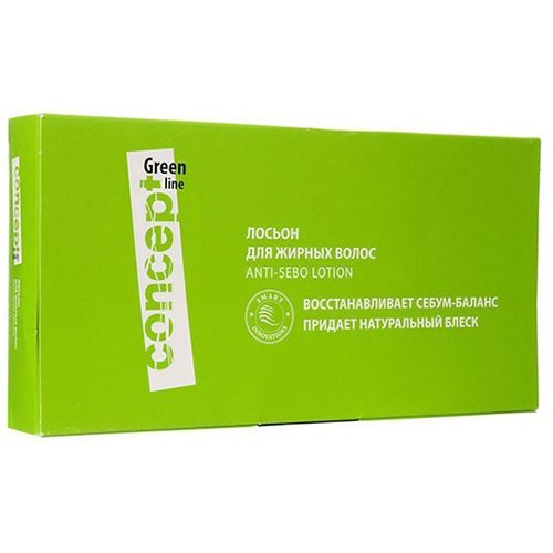 Concept, Лосьон Green line, для жирных волос