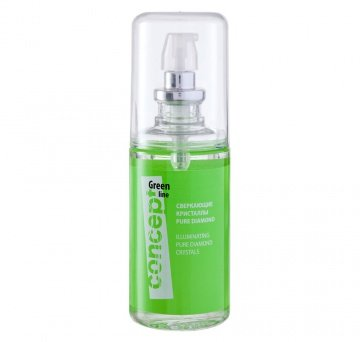 Concept, Сверкающие кристаллы Green line, 80 млМасло для волос<br>Питательное масло для секущихся кончиков. Восстановление и питание волос, 80 мл<br>