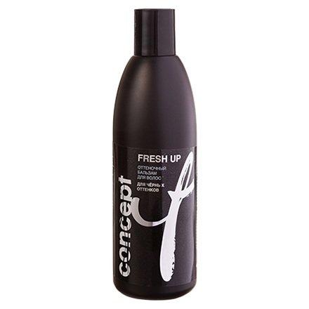 Concept, Бальзам Fresh Up (оттеночный) для черных оттенковСредства для тонирования и блондирования волос<br>Оттеночный бальзам для черных оттенков, 300 мл<br>