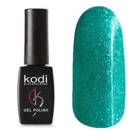 Kodi, Гель-лак № 130 (8ml)Kodi Professional <br>Гель-лакизумрудно-морской волны, с мелкими голографическими блестками., плотный, 8мл.<br>