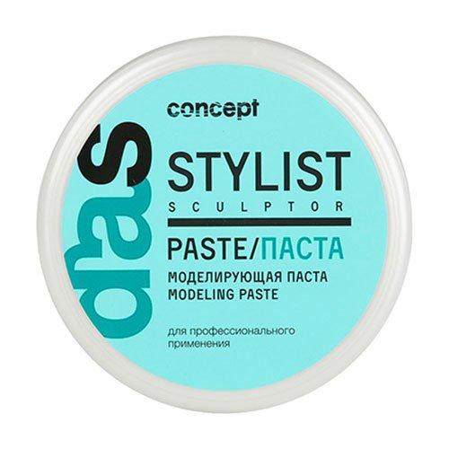 Concept, Паста Stylist sculptor, моделирующая д/волосСредства для укладки<br>Моделирующая паста для волоспозволяет создавать различные типы укладки, 85 мл<br>