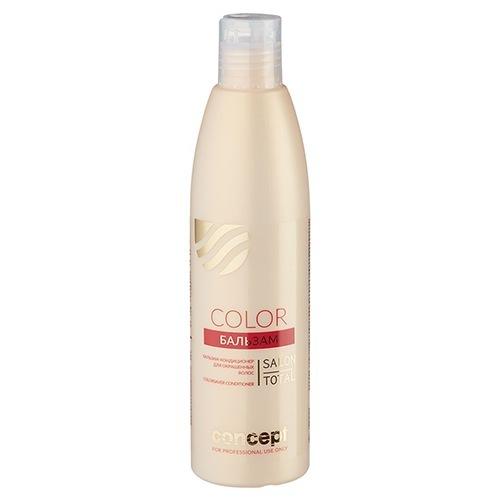 Concept, Бальзам Live hair, для окрашенных волос, 1000 млБальзамы и Кондиционеры<br>После применения бальзамы волосы блестят и легко расчесываются, 1000 мл<br>