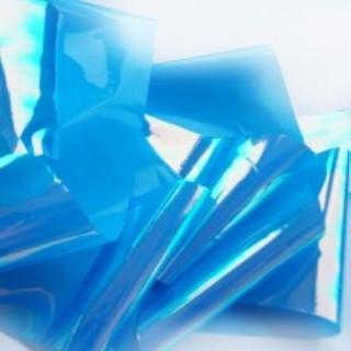 NelTes, Фольга Битое стекло (синий)Битое стекло<br>Фольга для создания эффекта битое стекло или стеклянные ногти<br>