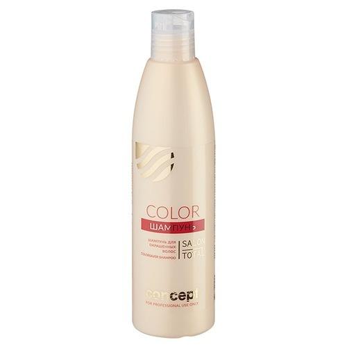 Concept, Шампунь Live hair, для окрашенных волос, 300 млШампуни<br>Шампуньобеспечивает полноценный уход окрашенным волосам и продляет жизнь цвету.<br>