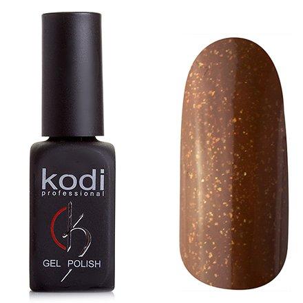 Kodi, Гель-лак № 95 (8ml)Kodi Professional <br>Гель-лак коричневый, с золотой микрослюдой,плотный, 8мл.<br>
