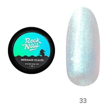 RockNail, Гель-краска Mermaid Scales №33 Mermaid Aesthetic (5 гр.)