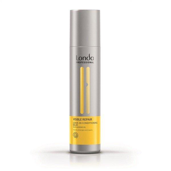 Londa, Несмываемый бальзам-кондиционер Visible Repair, для поврежденных волосБальзамы и Кондиционеры<br>Несмываемый бальзам-кондиционер для поврежденных волос Visible Repair, 250 мл<br>
