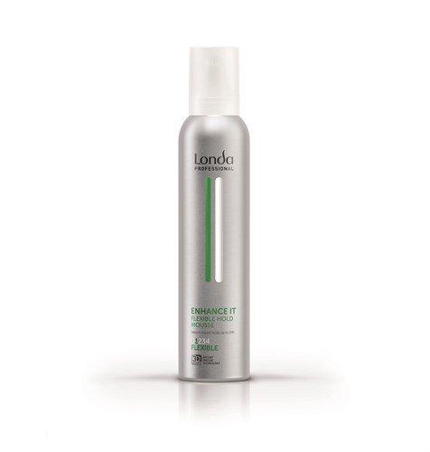 Londa, Пена ENHANCE IT, д/укладки волос нормальной фиксацииСредства для укладки<br>Пена для укладки волос нормальной фиксации ENHANCE IT, 250 мл<br>