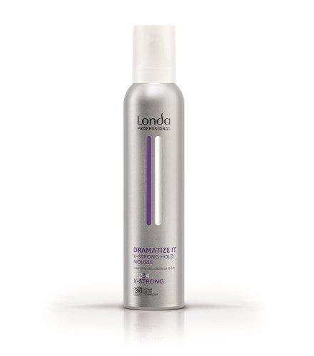 Londa, Пена DRAMATIZE IT, для укладки волос экстрасильной фиксации, 250 млСредства для укладки<br>Пена для укладки волос экстрасильной фиксации DRAMATIZE IT, 250 мл<br>