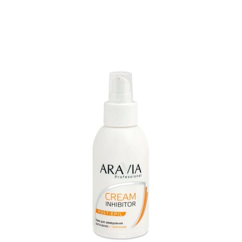 Aravia, Крем для замедления роста волос с папаином, 100 млСредства ДО и ПОСЛЕ депиляции<br>Крем для замедления роста волос с папаином, 100 мл<br>