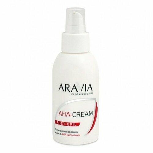 Aravia, Крем против вросших волос, 100 млСредства ДО и ПОСЛЕ депиляции<br>Крем против вросших волос с АНА кислотами, 100 мл<br>