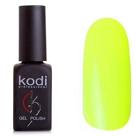 Kodi, Гель-лак № 126 (8ml)Kodi Professional <br>Гель-лакнеоново-желтый, плотный, 8мл.<br>
