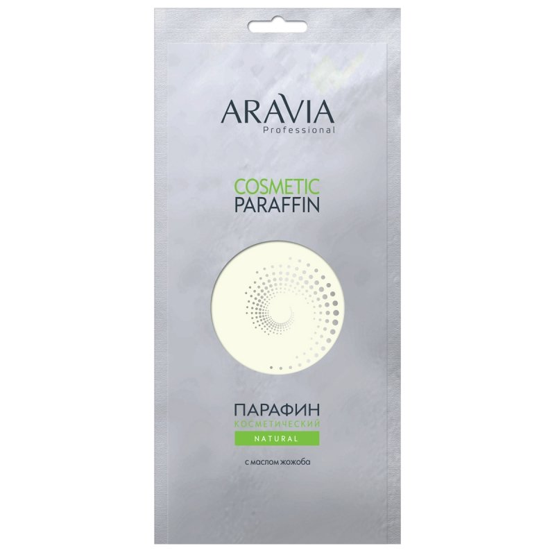 Aravia, Парафин - Natural, 500 гПарафин<br>Парафин косметическийНатуральный с маслом жожоба<br>