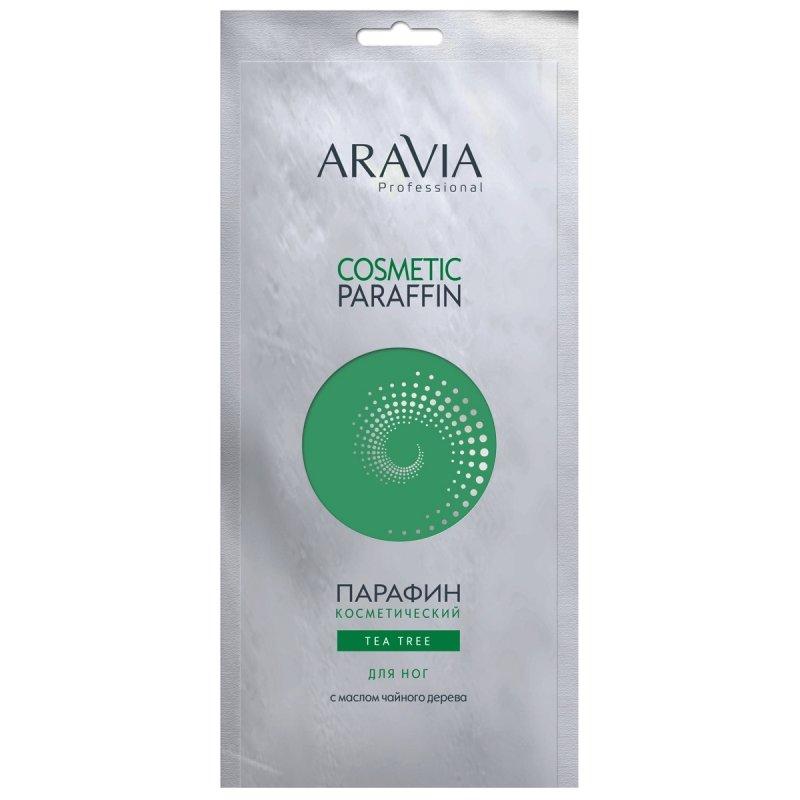 Aravia, Парафин для ног Tea Tree, 500 гПарафин<br>Парафин косметический Чайное дерево с маслом чайного дерева<br>