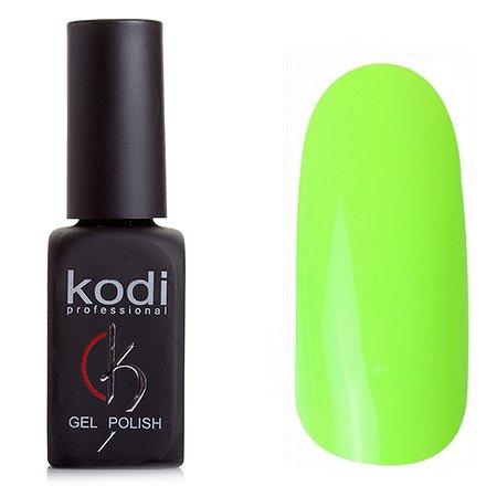 Kodi, Гель-лак № 127 (8ml)Kodi Professional <br>Гель-лакнеоново-зеленый, плотный, 8мл.<br>
