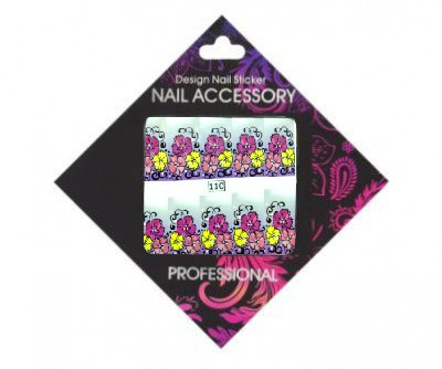 Nail Accessory, Слайдер-дизайн 110Слайдер-дизайн Nail Accessory<br><br>
