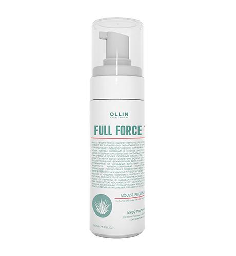 Ollin, Мусс-пилинг Full Force, д/волос и кожи головы с экстр. алоэ, 150 мл (Ollin Professional)