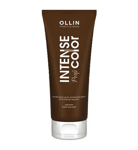 Ollin, Бальзам Intense Prof Color, д/коричневых оттенков волос, 200 мл (Ollin Professional)