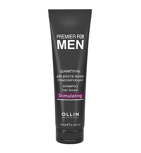 Ollin, Шампунь Premier for Men, для роста волос стимулирующий, 250 млШампуни<br>Активный шампунь для частого применения<br>