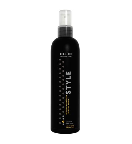 Ollin, Лосьон-спрей Style, д/укладки волос средней фиксации, 250 мл (Ollin Professional)