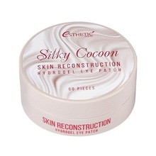 ESTHETIC HOUSE, Silky Cocoon Hydrogel Eye Patch - Гидрогелевые патчи для глаз (шелк, 60 шт.)