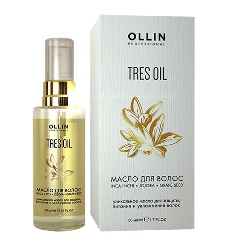 Ollin, Масло Tres Oil, д/волос, 50 млМасло для волос<br>Масло защищает и увлажняет волосы, возвращает им мягкость и здоровый блеск<br>