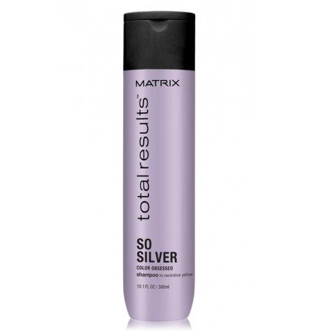 Matrix, Шампунь Color Obsessed So Silver д/нейтрализации желтизны, 300 мл