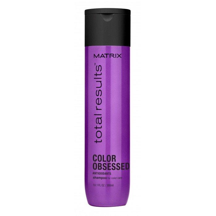 Matrix, Шампунь Color Obsessed, д/окрашенных волос, 300 млШампуни<br>Защищает от выцветания и сохраняет насыщенность цвета окрашенных волос<br>