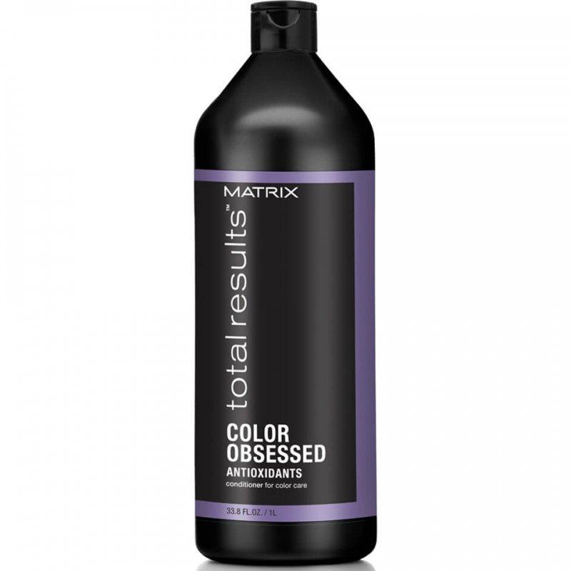 Matrix, Кондиционер Color Obsessed, для окрашенных волос, 1000 млБальзамы и Кондиционеры<br>Защищает от выцветания и сохраняет насыщенность цвета окрашенных волос<br>