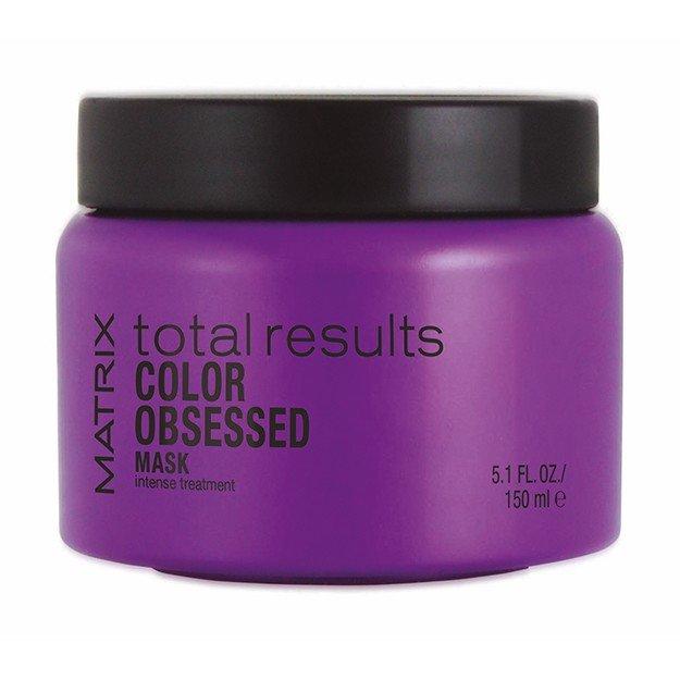Matrix, Маска Color Obsessed, д/окрашенных волос, 150 млМаски для волос<br>Защищает от выцветания и сохраняет насыщенность цвета окрашенных волос<br>