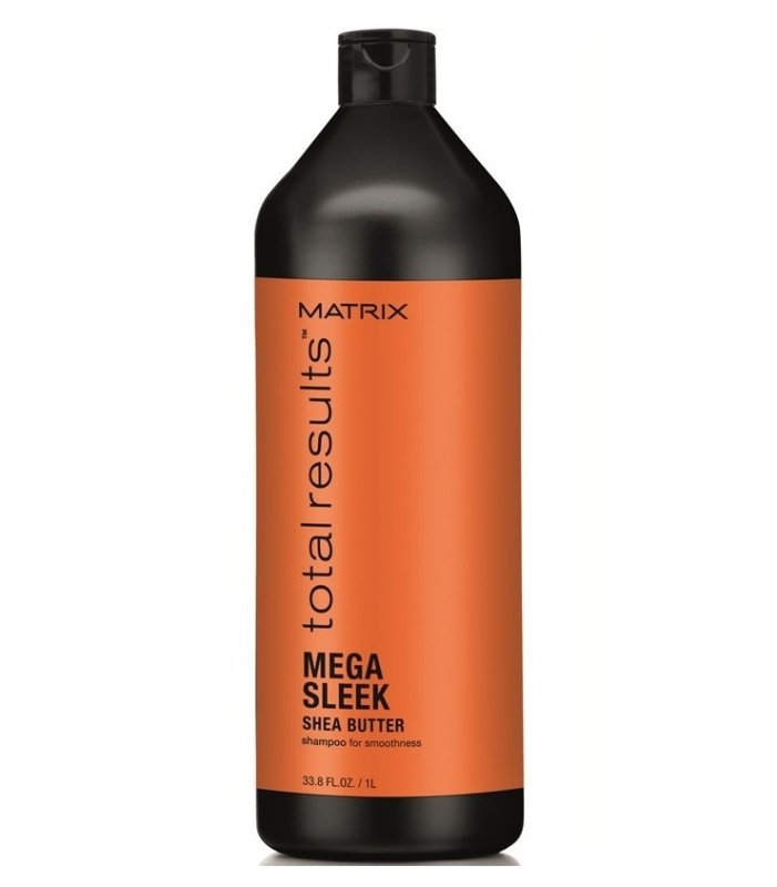 Matrix, Шампунь Mega Sleek, для гладкости волос, 1000 млШампуни<br>Укрощает непослушные волосы, защищает от влажности, придаёт волосам гладкость<br>