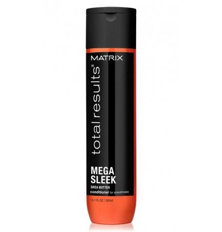 Matrix, Кондиционер Mega Sleek, для гладкости волос, 300 млБальзамы и Кондиционеры<br>Укрощает непослушные волосы, защищает от влажности, придаёт волосам гладкость<br>