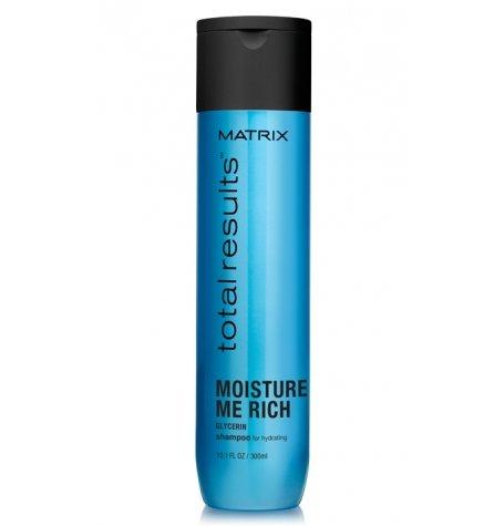Matrix, Шампунь Moisture Me Rich, д/увлажнения волос, 300 млШампуни<br>Слои? за слоем увлажняет волосы, придаёт мягкость и блеск, делает волосы более послушными<br>