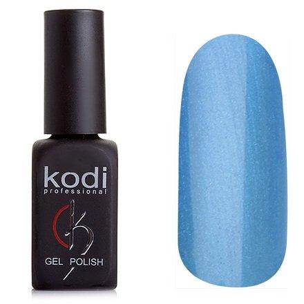 Kodi, Гель-лак № 143 (8ml)Kodi Professional <br>Гель-лак ярко-голубой с перламутром, плотный, 8мл.<br>
