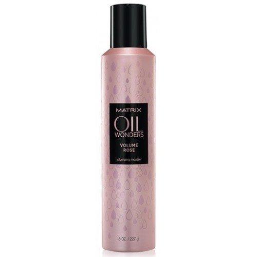 Matrix, Мусс Oil Wonders Volume Rose, д/объема волос, 250 млСредства для укладки<br>Превосходный баланс между питанием и продолжительным объемом без утяжеления<br>