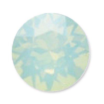 NelTes, Стразы для дизайна ногтей - Green Opal 1,8 мм (30 шт.)