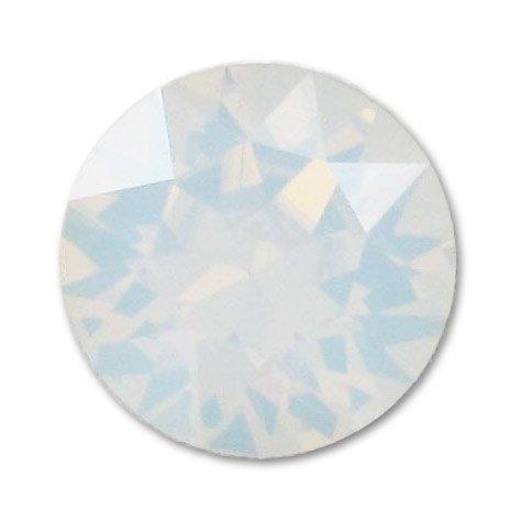 NelTes, Стразы для дизайна ногтей - White Opal 1,8 мм (30 шт.)