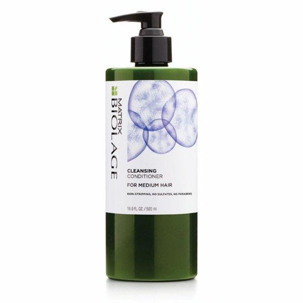 Matrix, Biolage Кондиционер Cleansing, для нормальных волос, 500 млБальзамы и Кондиционеры<br>Низкопенящийся Очищающий Кондиционер для нормальных волос с экстрактом ягод асаи<br>