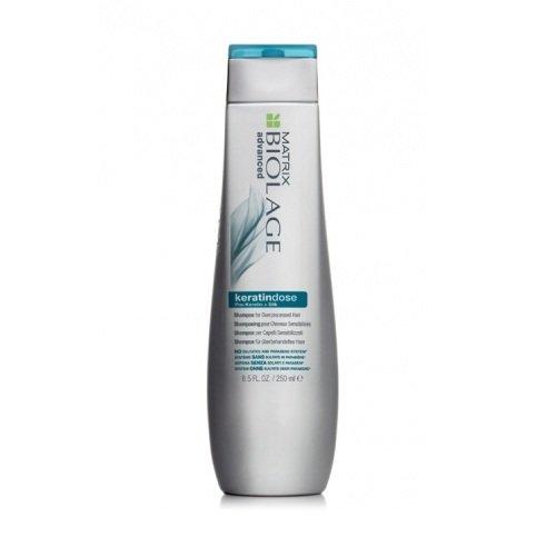 Matrix, Biolage Шампунь Keratindose, для сильно поврежденных волос, 250 млШампуни<br>Обеспечивает точечное укрепление сильно повреждённых волос<br>