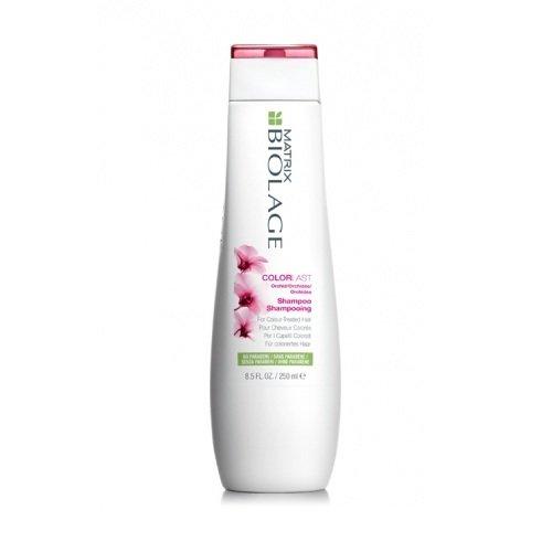 Matrix, Biolage Шампунь Colorlast, д/окрашенных волос, 250 млШампуни<br>Помогает сохранить глубину и яркость оттенка окрашенных волос<br>
